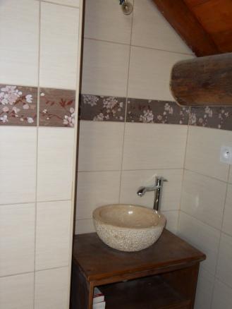 Salle d'eau combles maison