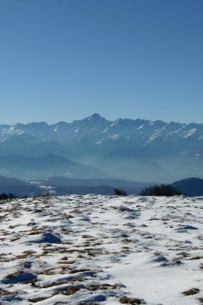 Le Valier sous la neige