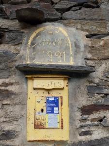 Boîte aux lettres ancienne