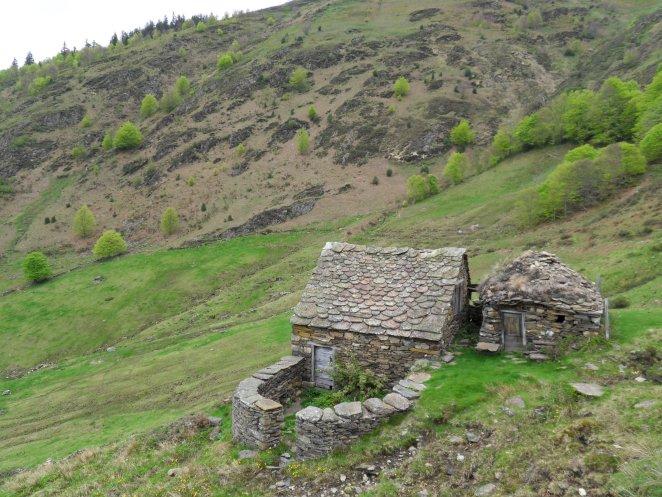 Le joli village d'estive de Goutets, Ariège