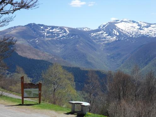 Le col de Péguère et son beau point de vue