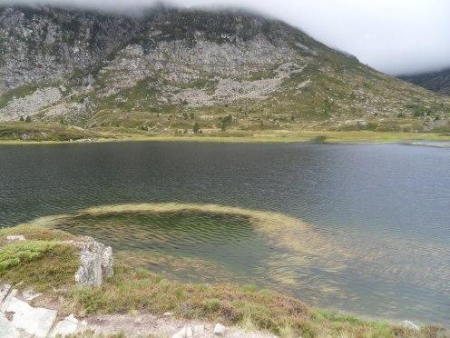 En longeant les étangs