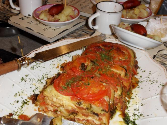 El Ciervo, buffet du petit déjeuner