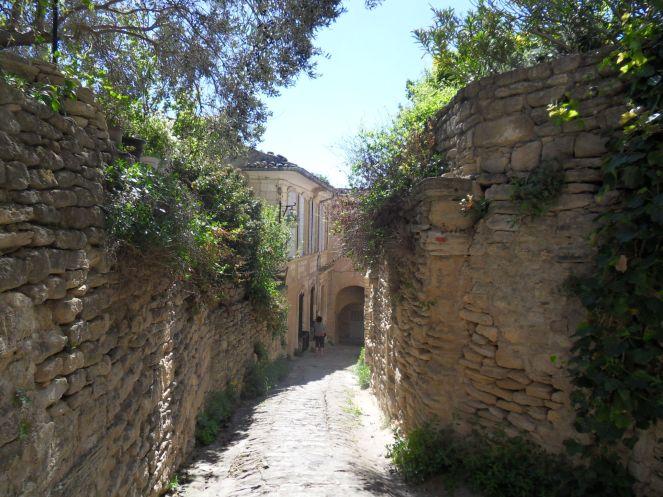 Les ruelles de Lourmarin