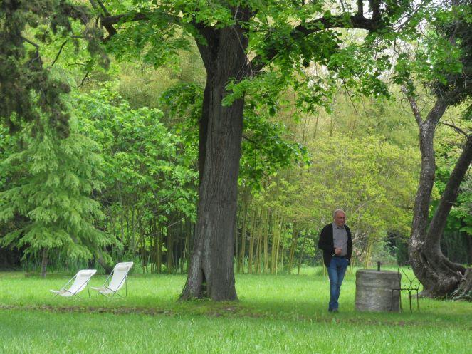 Balade dans le parc du château