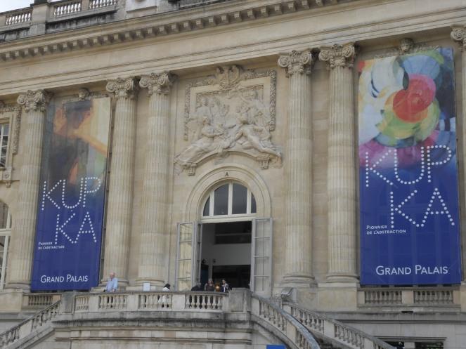 Exposition Kupka au Grand-Palais