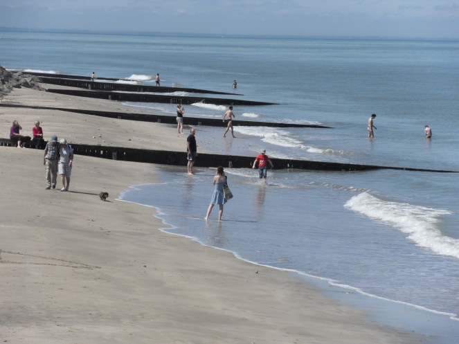 La plage de Villerville