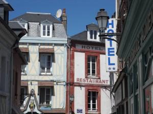 Pause crêpe à Villerville