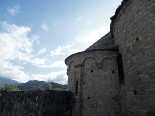 l'église romane de St Sernin de Soueix