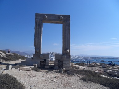 Temple d'Apollon à Naxos