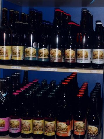 Les différentes bières