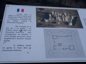 Informations et plan du château