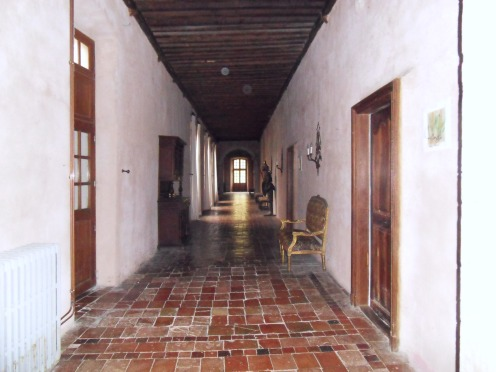 L'ancienne abbaye devenue aujourd'hui chambres d'hôtes
