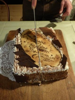 Dessert d'anniversaire