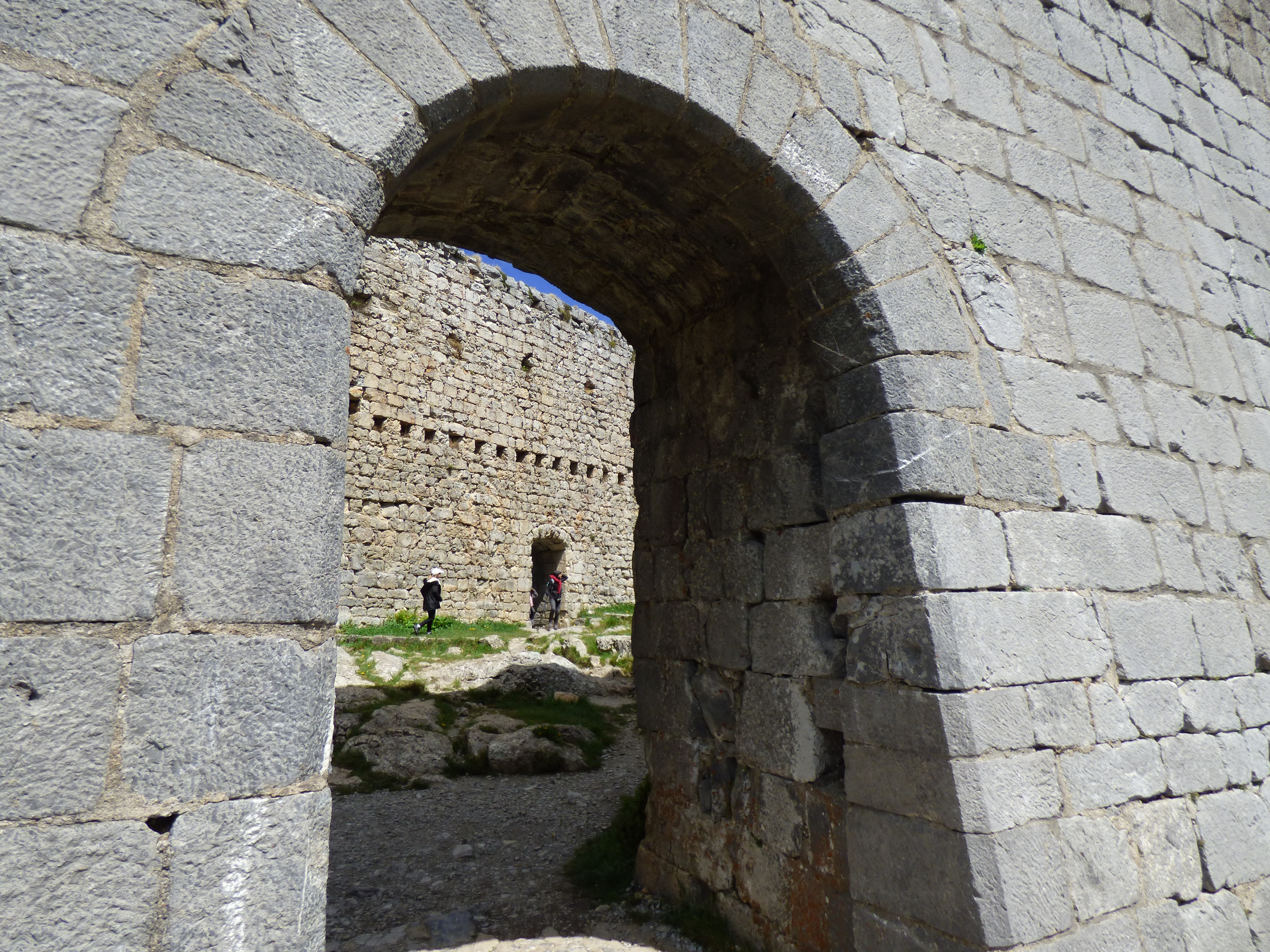 La porte du château